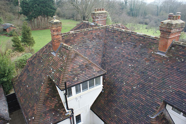 Heritage Roofing on The Queens House project