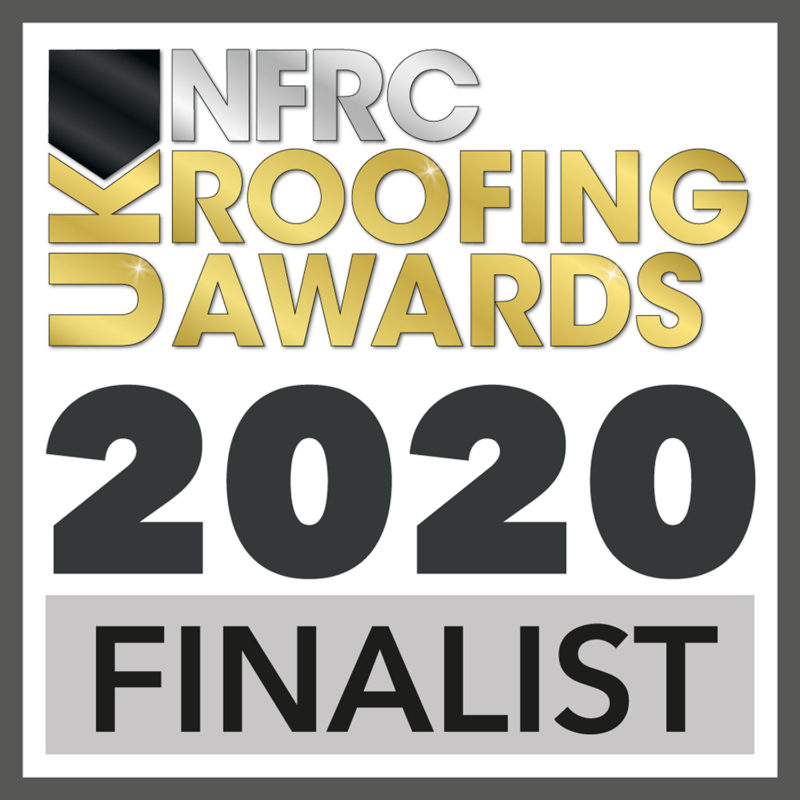 NFRC UK Roofing Awards 2020 - Finalist